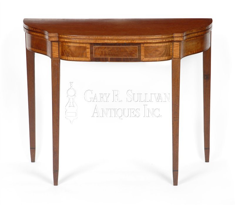 Federal antique games table