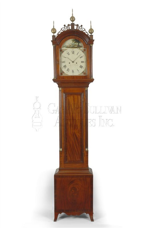 Aaron Willard Tall Clock (Boston, Mass.)