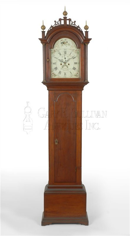 James Perrigo, Jr. Tall Clock (Wrentham, Mass.)