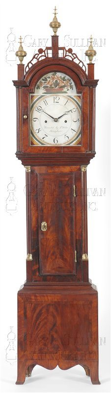 Josua Wilder antique dwarf clock
