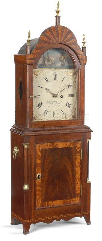 David Wood Shelf Clock (Newburyport, Mass.)