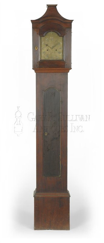 Nathaniel Dominy antique tall case clock