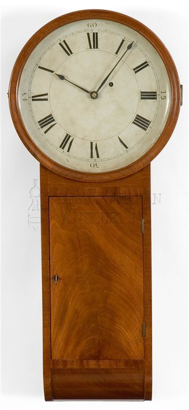 Joseph Dunning antique tavern clock