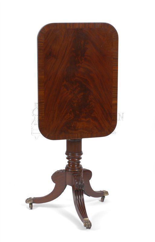 Duncan Phyfe antique candle stand