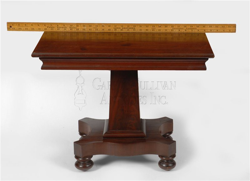 antique Classical miniature games table