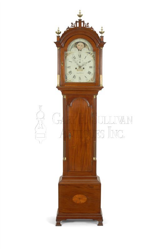 Simon Willard antique tall clock
