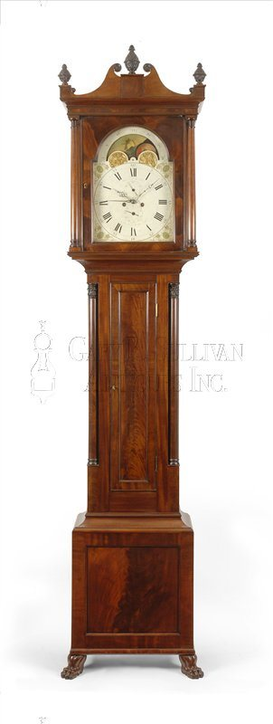 John Bailey Jr. Tall Case Clock (New Bedford, Mass.)