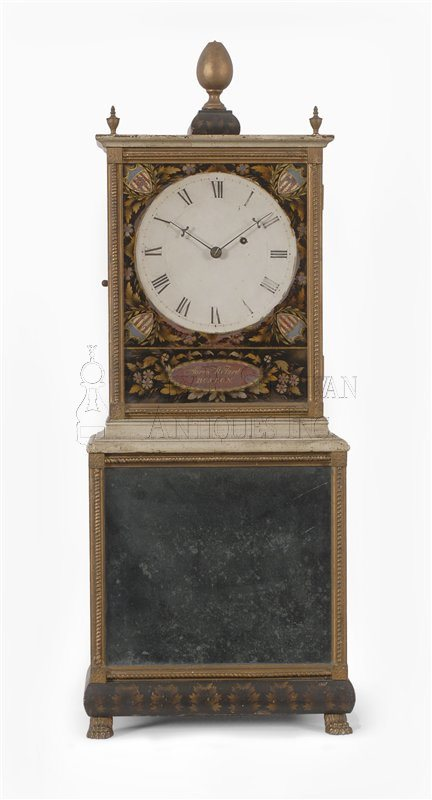 Aaron Willard Mass Shelf Clock