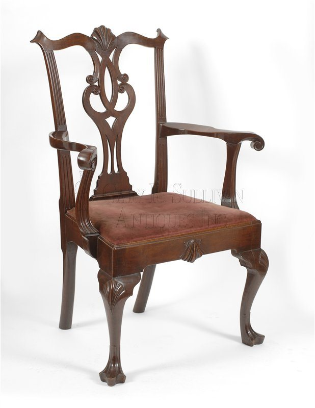 Philadelphia Chippendale armchair