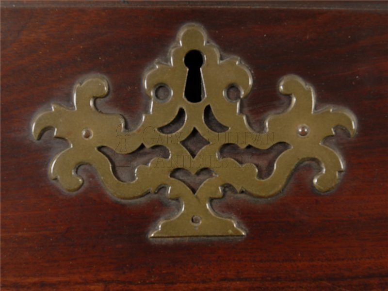Boston Queen Anne high chest escutcheon