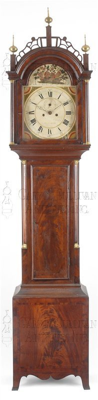 Joshua Wilder Tall Case Clock (Hingham, Mass.)