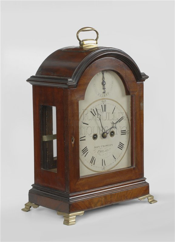 John Crowley Bracket Clock (Philadelphia, PA)