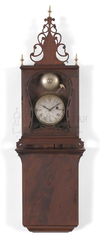 Aaron Willard Grafton wall clock