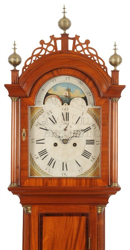 Southeastern Massachusetts Tall Clock hood