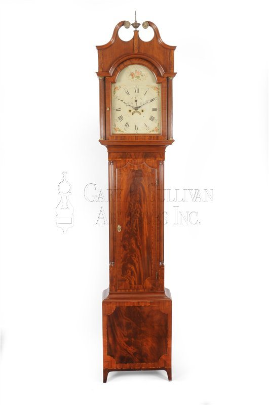 Antique New Jersey tall clock