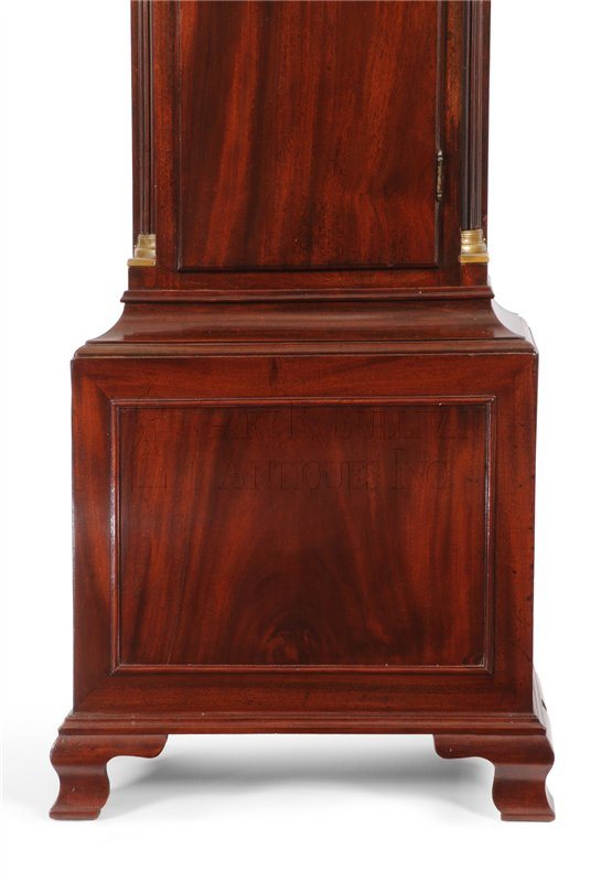Chippendale tall clock base
