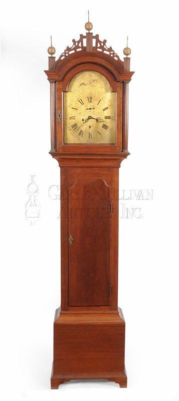 Benjamin Willard Tall Clock (Roxbury, Mass.)
