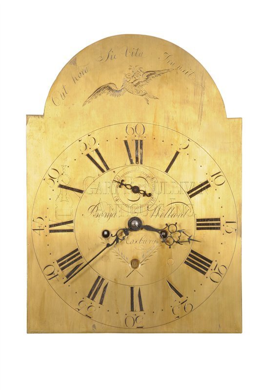 Benjamin Willard grandfather clock dial