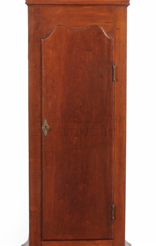 Benjamin Willard grandfather clock waist
