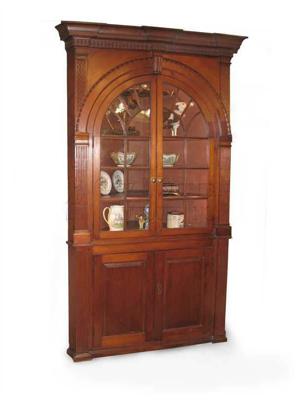 Chippendale corner cupboard