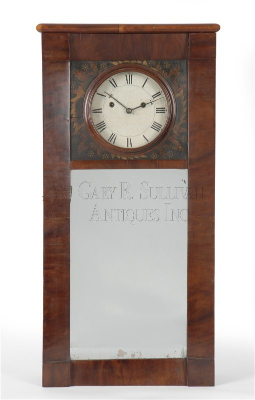 Clark Durgin Mirror Clock (Andover, NH)