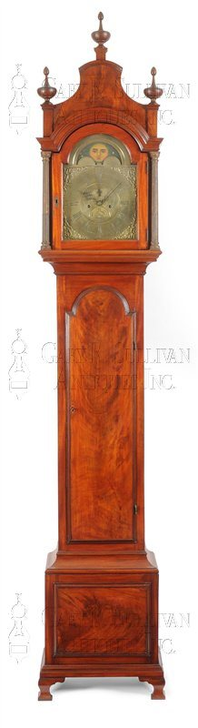 Thomas Pearsall tall clock