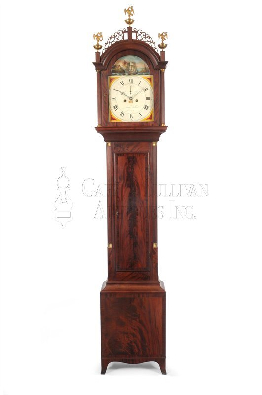 Aaron Willard Jr. Tall Clock