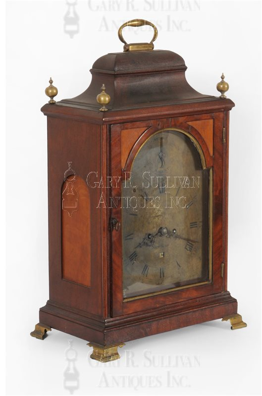 Effingham Embree Bracket Clock (New York City, NY)