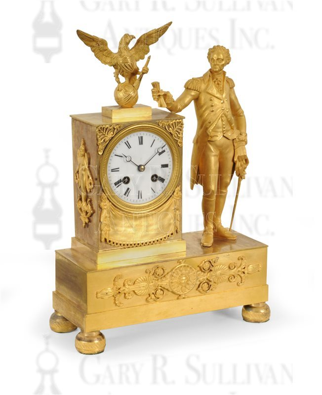 George Washington shelf clock