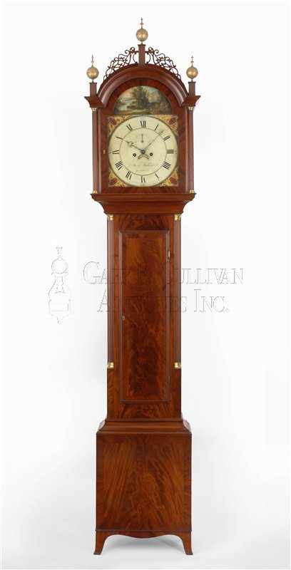 Willard antique tall clock