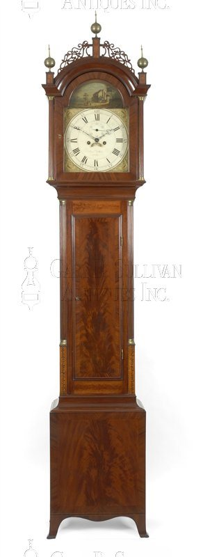 Aaron Willard antique tall clock