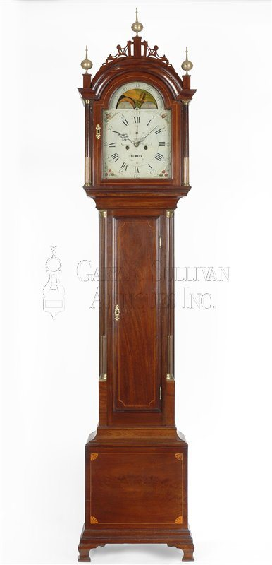 Aaron Willard antique tall case clock