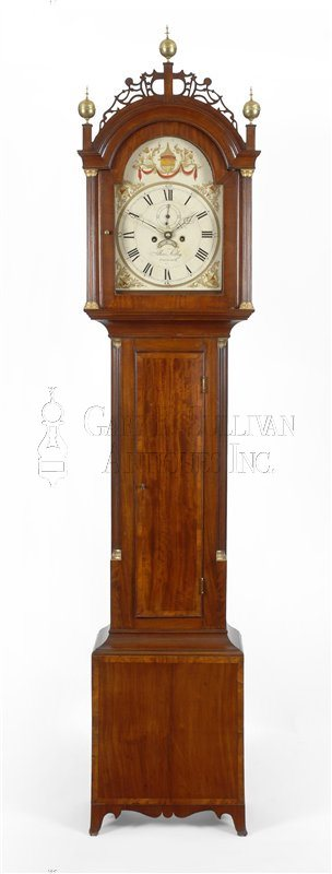 Allen Kelley Tall Clock (Falmouth, Mass.)