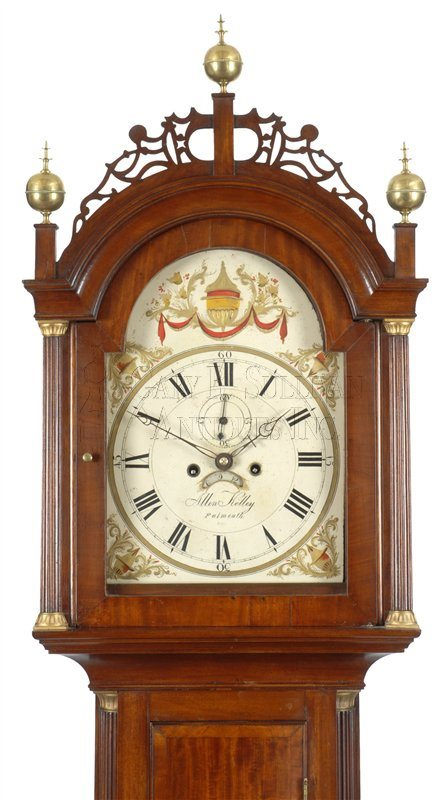 antique Falmouth tall case clock