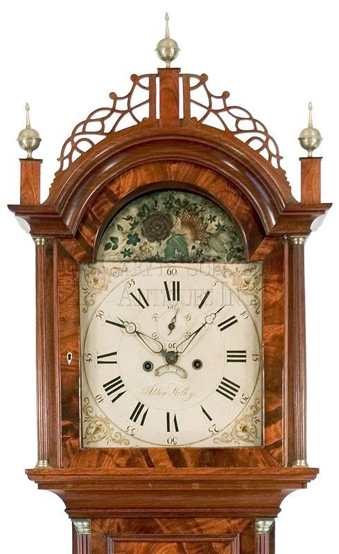 antique Cape Cod tall case clock