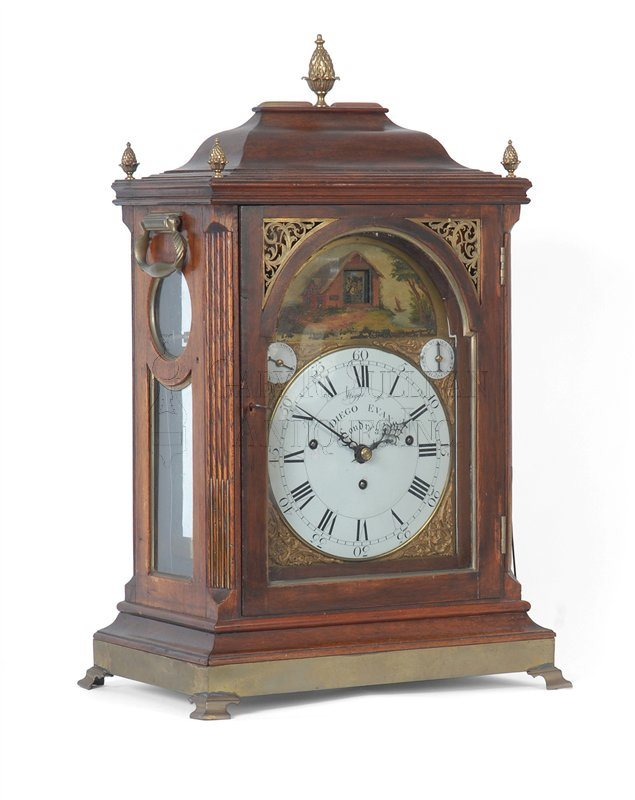 antique musical shelf clock