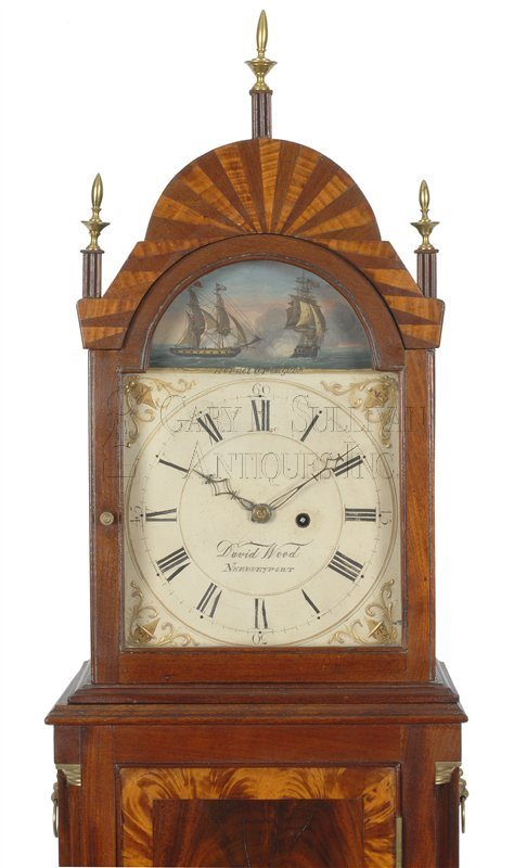 David Wood Mass shelf clock hood