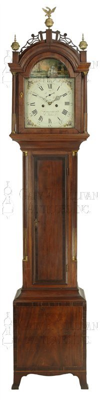 Elnathan Taber Grandfather Clock (Roxbury, Mass.)