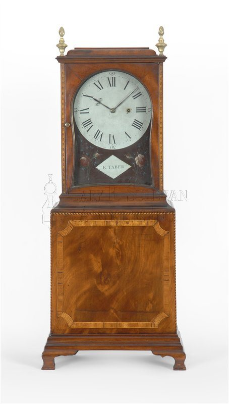 Elathan Taber Mass shelf clock