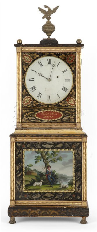 Ezekiel Jones Shelf Clock (Boston, Mass.)
