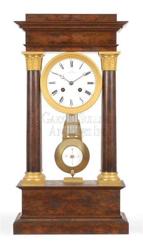 French classical shelf clock