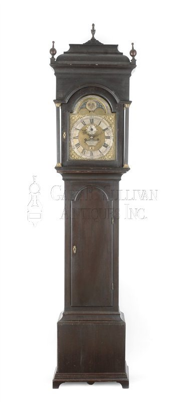Gawen Brown antique tall clock