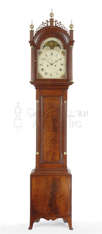John Bailey II Tall Case Clock (Hanover, Mass.)