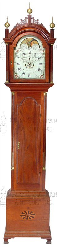 John Osgood antique grandfather clock