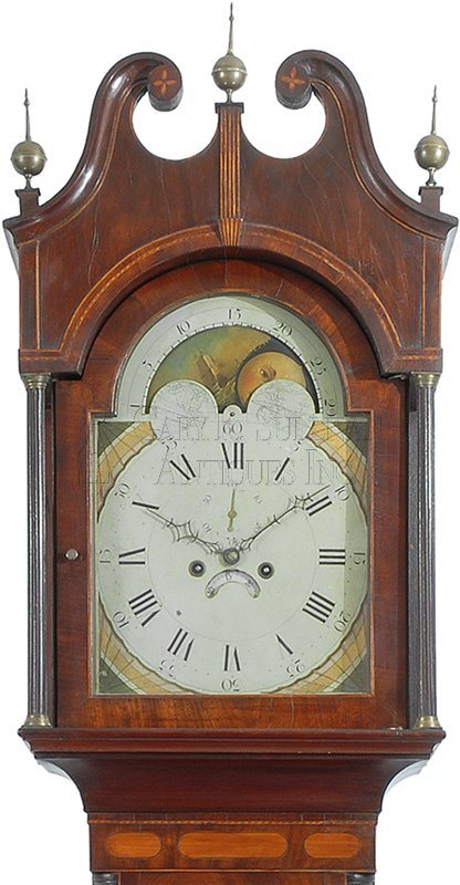 New York antique tall clock