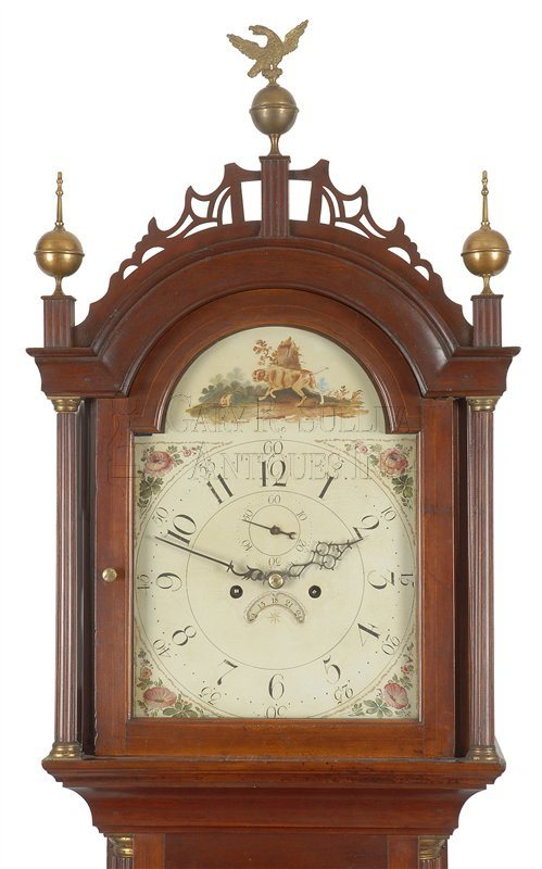 New Hampshire antique tall clock
