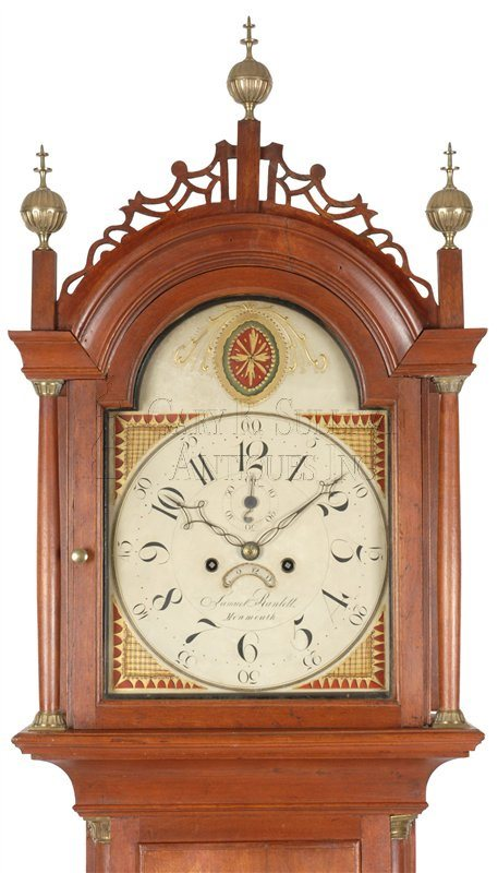 Maine antique tall clock
