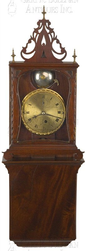 Simon Willard Grafton Wall Clock (Grafton, Mass.)