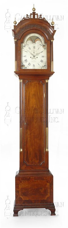 Simon Willard antique grandfather clock