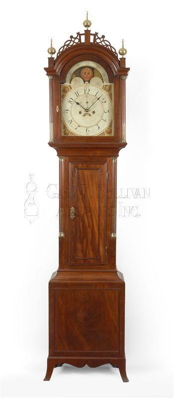 Southeastern Massachusetts antique tall clock